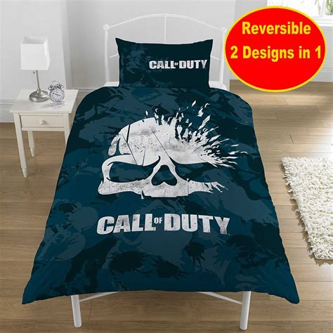 call of duty bedding set new call of duty cod skull game single duvet quilt cover