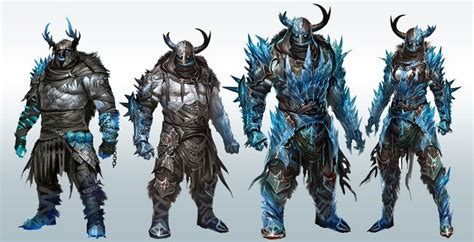 Gw Frozen Set concept from guild wars 2 s quot norn quot race i really like