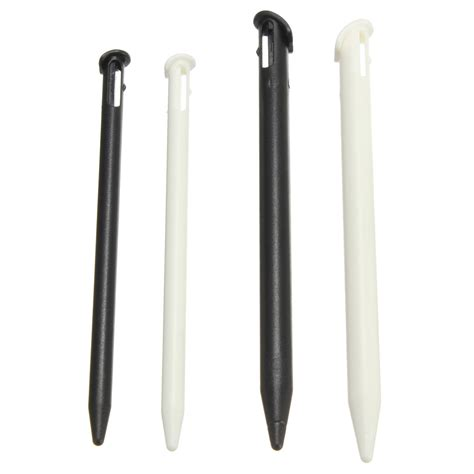 Stylus Pen Touch 3ds 2pcs plastic stylus touch screen pen for new nintendo 3dsll 3ds xl black wh alex nld