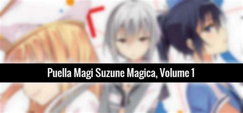 Puella Magi Suzune Magica Vol 1 review puella magi suzune magica vol 1 in capes