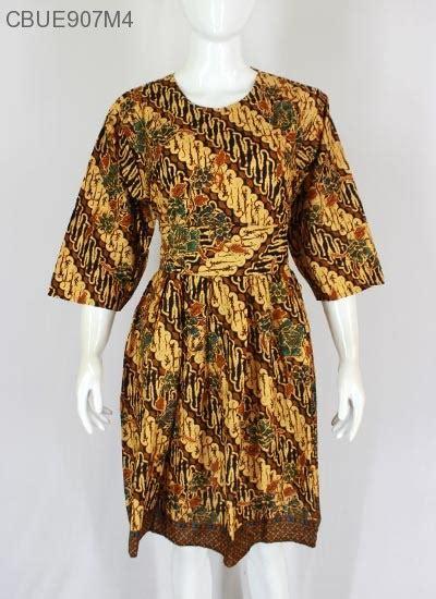 dress batik obi motif klasik dress murah batikunik