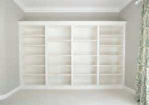 ikea bookcases made to look built in built in bookcases made of ikea billy decoist