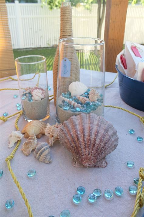 nautical themed baby shower centerpieces lou nautical baby shower baby shower