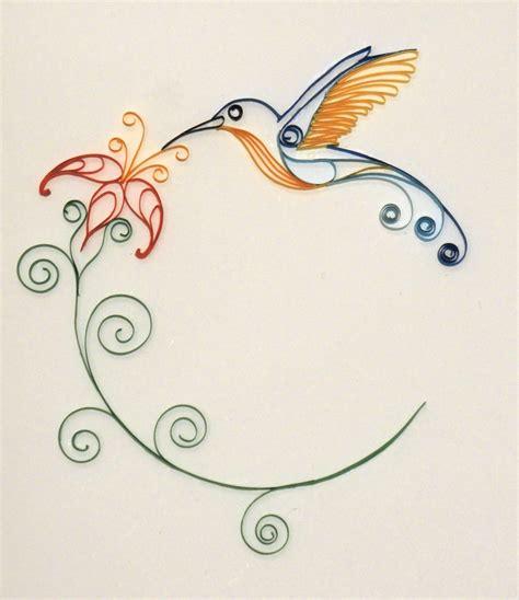 paper hummingbird template hummingbird paper quilling by 6re9 on deviantart