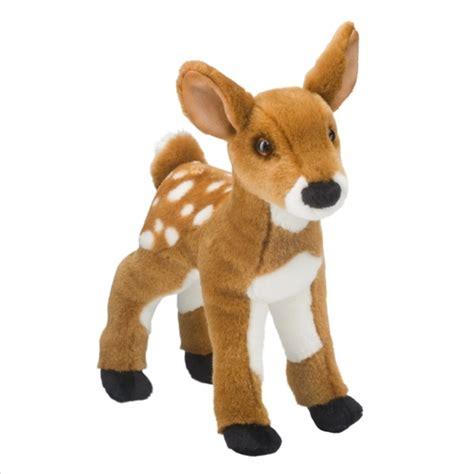 delila the plush deer fawn by douglas at stuffed safari