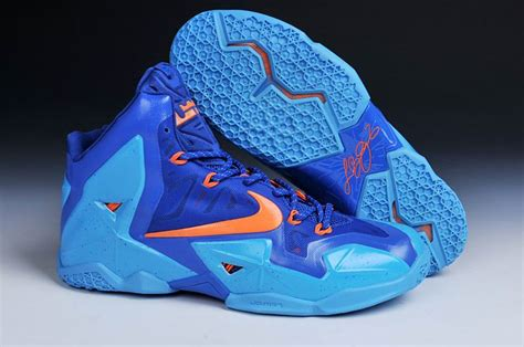 cheap lebron shoes for cheap lebron 11 shoes orange navy blue on sale cheap