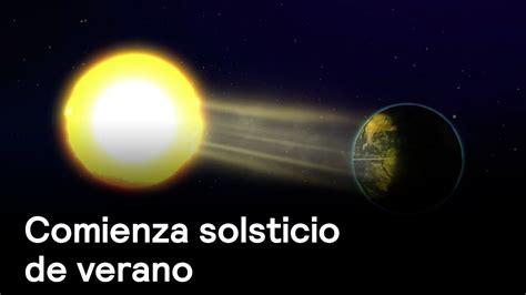 solsticio de verano comienza clima en punto con