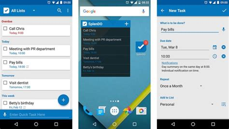 best to do list app 10 best to do list apps for android android authority