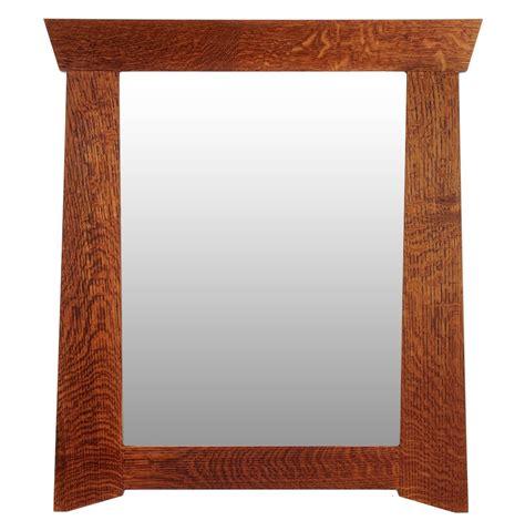 craftsman mirror crafted craftsman mirror the rosemont by thrasher