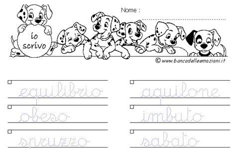 ricerca parole da lettere ciao bambini impariamo a scrivere in corsivo le parole