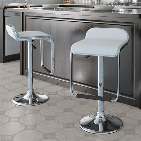 35 stylish modern adjustable white leather bar stools 35 stylish modern adjustable white leather bar stools