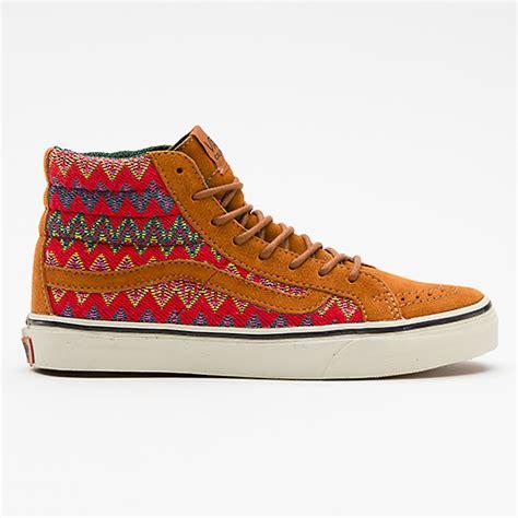 vans with pattern vans california sk8 hi slim zig zag pattern sneakersbr