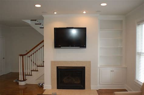 fireplace design ideas with side built in custom