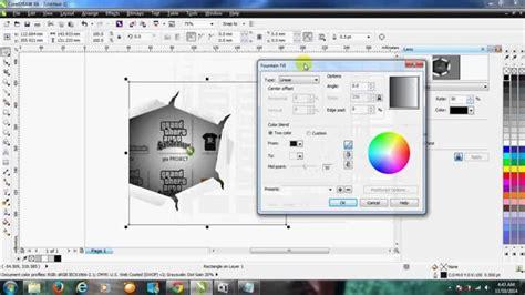 tutorial efek vektor tutorial membuat effect kertas sobek dengan corel draw