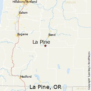 map of la pine oregon best places to live in la pine oregon