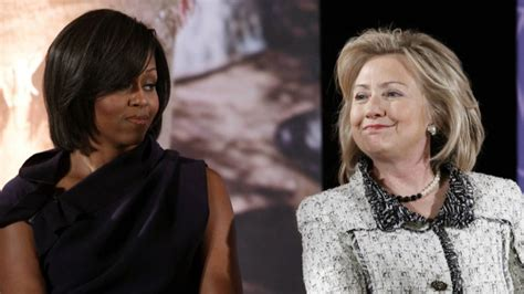 awkward email shows  hillary  feels  michelle obama envolve