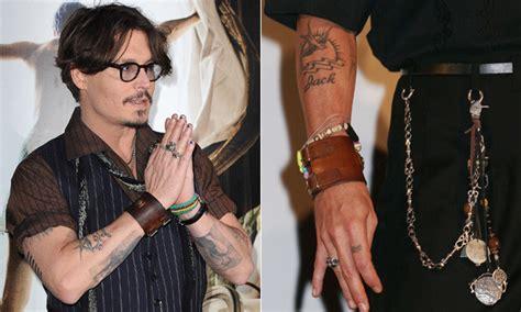 quantas tattoos johnny depp tem tatuagem dos famosos mdemulher