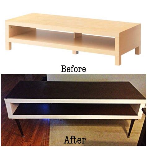 table tv ikea diy ikea hack lack tv stand to mid century inspired