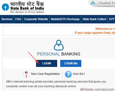 state bank of india banking login how to activate banking in sbi