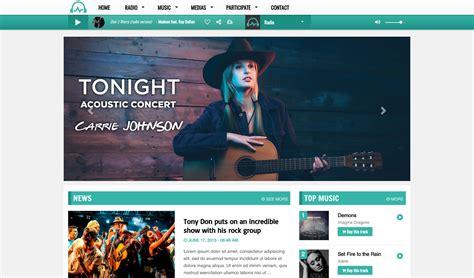visitor listener pattern create your radio website radioking