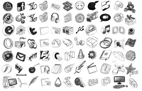 doodle draw theme icon pack 10 free and beautiful vector icons best
