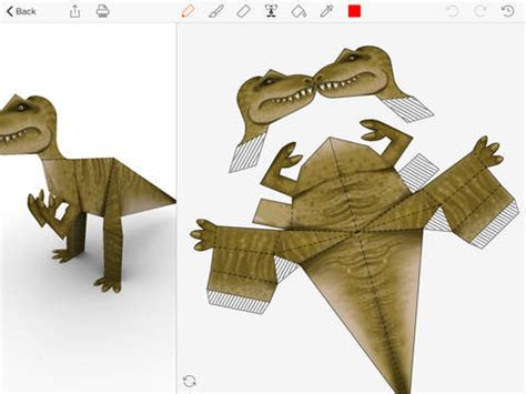 Papercraft Dinosaur - app store update april 14 handheld
