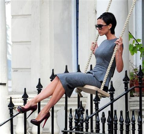 is swinging healthy for relationships victoria beckham s swinging ad shoot fashion wear