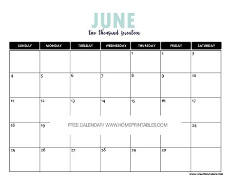 printable calendar 2017 pretty june 2017 calendar printable 8 fun and pretty designs