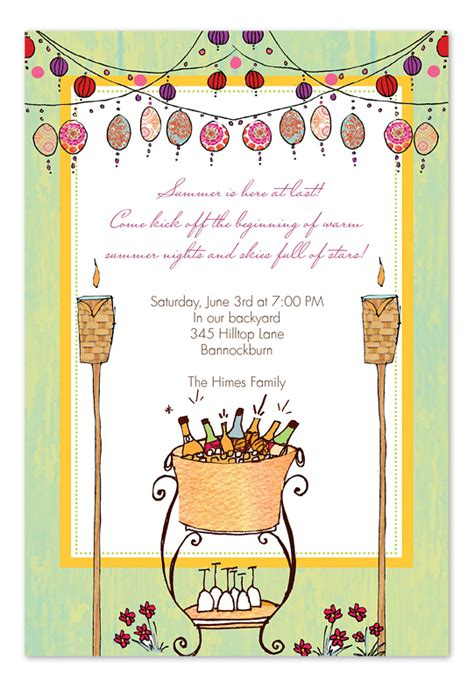 backyard party invitations backyard wine party party invitations by invitation consultants ic bi ph 113