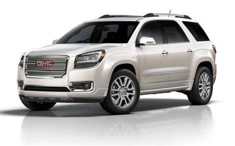 new 2016 gmc acadia denali release date price review