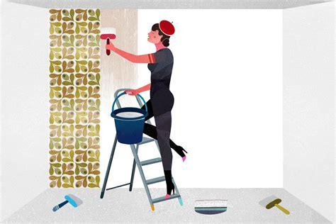 Comment Peindre Une Pièce 2410 comment poser un papier peint intiss 233 pour