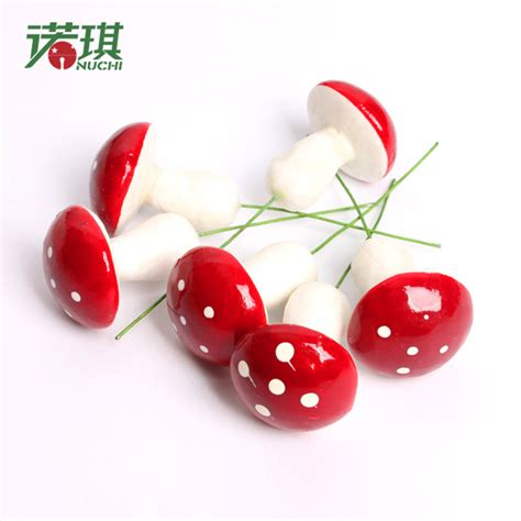 diy small mushroom bulk christmas ornaments plastic xmas