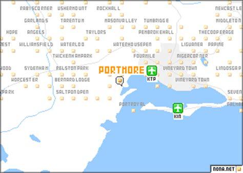 map of portmore jamaica portmore jamaica map