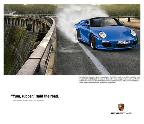 porsche ads student porsche print ads the design diary of a miami ad