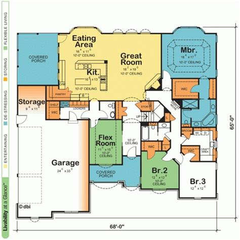 1 story open floor plans delightful one story house plans with open floor plans