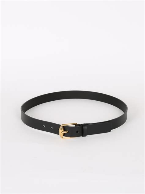 gucci black leather bamboo buckle belt 95 luxury bags