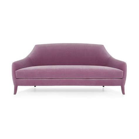 Purple Sofa Designer Sofa Purple Sofa Margaret Swanky Interiors