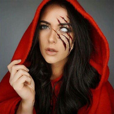 black hair with red riding hood rotk 228 ppchen halloween kost 252 me und marke up pinterest