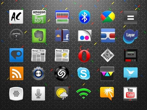 Android Icons Set icons pack Free icon in format for free ...