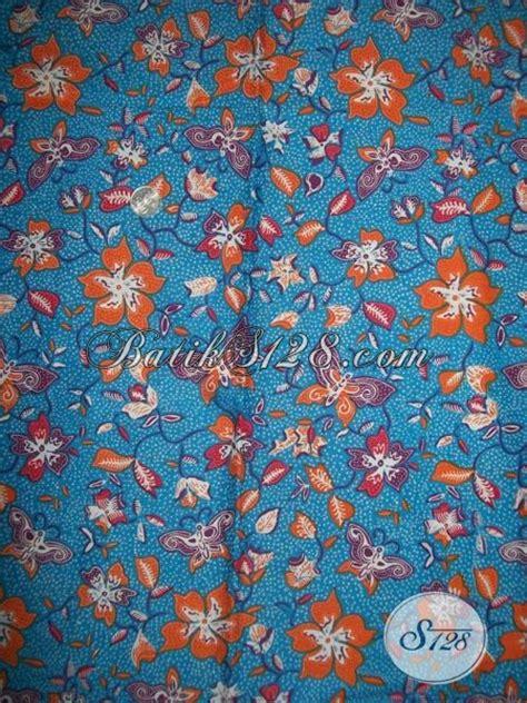 desain bunga kain kain batik desain terbaru motif kupu dan bunga batik solo