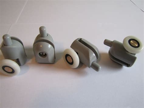 Replacement Shower Door Rollers Set 4pcs Shower Door Roller Rollers Replacement Wheels Wheel 25mm Ebay