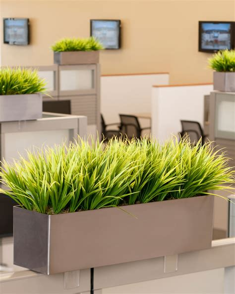 artificial grass planter for home and office decorating at