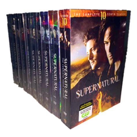 Supernatural Season 1 Dvd Box Set Collection Koleksi supernatural