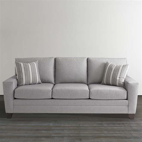 grey sleeper sofa gray plaid upholstered sleeper sofa