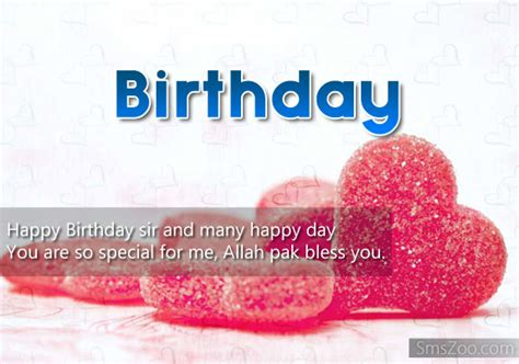 birthday wishes to sir birthday sms for sir bday sms wishes for sir