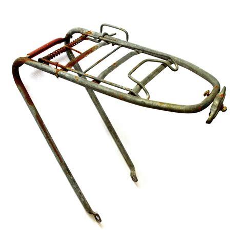 Bike Pannier Rack Fitting by Vintage Sprung Rear Bicycle Pannier Luggage Rack Steel