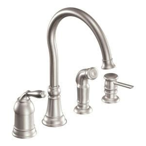 moen lindley kitchen faucet the world s catalog of ideas