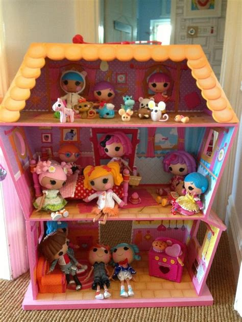 lalaloopsy house lalaloopsy silly fun house 2 pack mini dolls charlotte