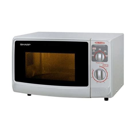 Promo Sharp R 222y W Microwave Oven Putih Low Watt jual sharp low watt microwaves r 222y w putih