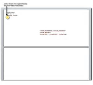 create new envelope template